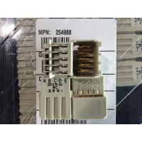 ERNI恩尼垂直式公3对型压接60针连接器464514