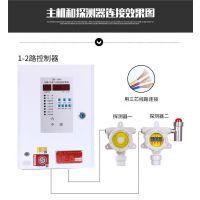 九江可燃气体泄漏报警控制系统 电磁阀 检测器