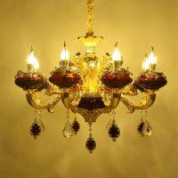 卧室灯led平板灯白玉平安客厅灯新鸿鑫水晶餐厅灯具