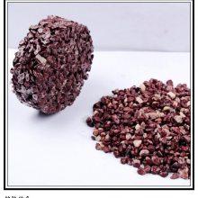 胶粘石 胶粘透水石 胶粘透水路面卵石 纯天然优质抛光五彩石