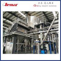 常州力马-陶瓷浆料逆流式喷雾干燥装置TZPG-16、立式喷干塔生产厂家