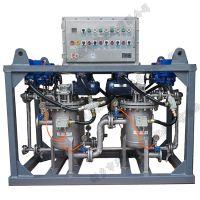 天诚供应石油装备污水处理设备用不锈钢撬装自清洗过滤器