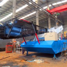 云南景区收集水草船 科大打捞运输水葫芦设备