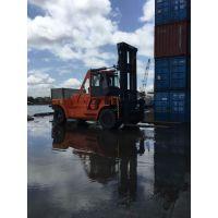 LNG叉车华南重工12-36吨天然气重装叉车港口码头LNG叉车采购价格