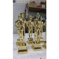 中国建筑工程鲁班奖奖杯现货供应,金属材质奖杯定制,奖杯开模复制价格