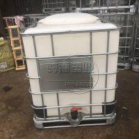 聊城尊霖1000L特厚超大口径IBC塑料吨桶千升集装桶吨装运输桶PE防腐储罐