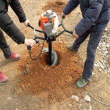 轻松提土挖坑机 枣庄旋转挖坑机 电线杆打洞机浩发