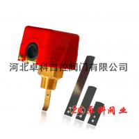 河南省 水流开关 靶式流量控制器流量计HFS-25/15 专业生产 质量保证