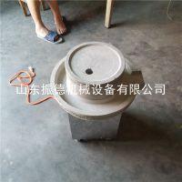 振德 商用电动石磨豆浆机 纯天然青石磨盘米浆机 芝麻糊磨 价格