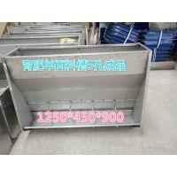 中原康地 B-14 304不锈钢料槽 育肥猪专用 省时省料欢迎选购