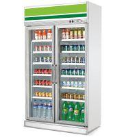 飞尼特LG-1260双门饮料柜冷藏展示柜超市冷柜厂家直全国联保