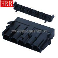 HRB鸿儒10.0间距连接器_10.0大电流电源连接器_厂家直销大量库存