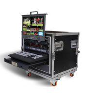 厂家直销MS-2850高标清8路移动箱载演播室洋铭导播切换台录像机