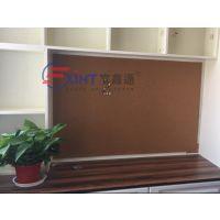 广州纯软木板照片墙7澄海实木质框留言板7记事板公告栏