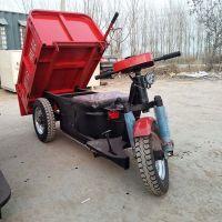 强云机械电动自卸三轮车环保运输电瓶车超载重翻斗车结实耐用操纵舒适