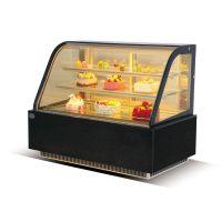 威雪达蛋糕柜冷藏展示柜弧形前开门直角后开门台式立式蛋糕展示柜