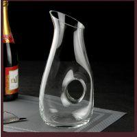 HOLY无铅水晶玻璃葡萄酒醒酒器大口透明蜗牛醒酒器