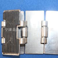 304不锈钢耐高温耐腐工业使用格平顶链板清林金属厂家定制