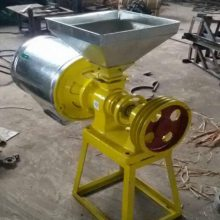 山东信达供应小麦磨面机子 电动 微型家用磨面机家庭用面粉机器