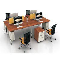 朗哥家具 职员桌 办公卡位 屏风办公桌 办公家具厂家直销22
