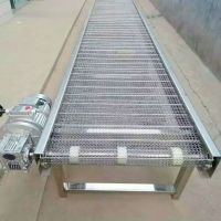 乾德网带输送机 食品链条传送带 分拣及配件优惠厂家