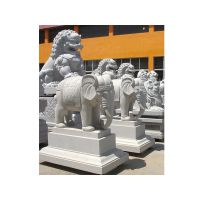 超越石业常年设计加工生产各种园林人物 动物石雕牌坊 浮雕壁画 栏杆栏板 假山喷泉