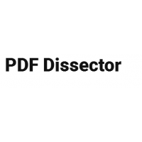 PDF Dissector购买销售,正版软件,代理报价格