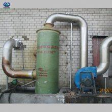 20T的锅炉配套脱硫除尘器价格 沈阳60000风量玻璃钢脱硫塔价格 华强