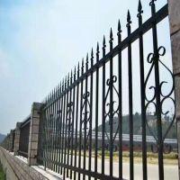 钿汇鑫筛网主营产品厂区锌钢护栏网铁艺护栏1.5*3米黑色小区隔离铁栅栏