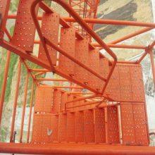 A安全爬梯A山西通达香蕉式安全爬梯厂家A直供施工爬梯