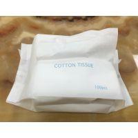 婴儿干巾厂家 40g纯棉柔巾oem 干湿两用柔巾卷
