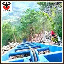猛士爬山虎 边坡防护 房屋运沙斜坡上料机 爬坡机
