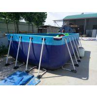 钢管结构装水水池哪有 河南定制钢架水池工厂电话 室外蓄水大型支架水池报价