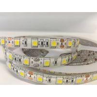 雅祺5050-60灯暖白 滴胶高亮12V贴片LED软灯带 防水客厅吊顶暗槽灯