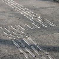 金聚进 品牌不锈钢盲道钉防滑钉 304导向盲道钉 美观耐用