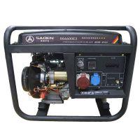 供应萨登7KW静音 220V 380V汽油发电机 参数 价格