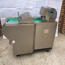 山东不锈钢切菜机价格 电动商用切丁机 豆腐多用途切块机价格