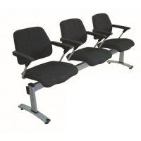 麦德嘉MDJ-MFP02现代生产医院等候排椅车站机场候客三人位塑料面排椅培训机构学生写字椅