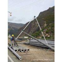 立杆机价格 电力专用三角立杆机 免费调试安装水泥杆立杆机