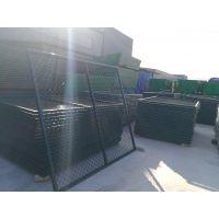 源海厂家低价直销 公路铁路护栏网 双边丝道路 镀锌丝框架护栏