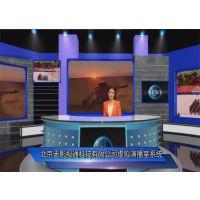 虚拟演播室系统 学校演播室现场方案、北京天影科技校园电视台