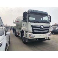 中国供应商特供福田欧曼BJ5253GJB-XL型12-14方11.6L排量湿料式搅拌车