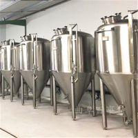 曲阜百事特小型自酿啤酒设备厂家 发酵罐生产制造