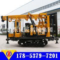 华巨直供XYD-200型履带式回转式钻机 水文地质水井钻机
