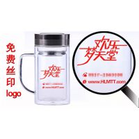 【甘肃】兰州水杯批发 礼品杯定制广告杯定做诗如意玻璃杯品牌厂家 直销