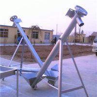 移动式半自动螺旋输送机 不锈钢食品升降输送机兴亚