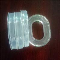 专业定做 高周波热压成型耳机耳套 生产全透明硅胶皮耳套吸音海绵