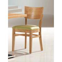 倍斯特简约现代实木餐椅休闲清新主题中餐厅厂家定制