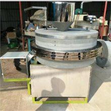 家用面粉石磨机低速研磨原生态面粉石磨机