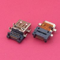 Micro HDMI D型19pin母座 反向四脚插沉板板上1.75中心距0.67有柱